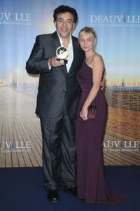 Rodrigo Garcia and Emmanuelle Beart at the 36th Deauville American Film Festival.