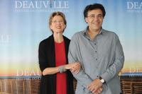 Annette Bening and Rodrigo Garcia at the photocall of