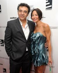 Rodrigo Garcia and producer Lisa Maria Falcone at the premiere of