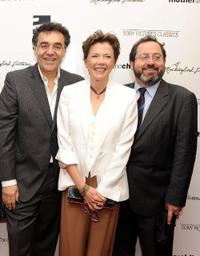 Rodrigo Garcia, Annette Bening and Michael Barker at the premiere of