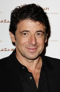 Patrick Bruel at the grand opening night of the Kerzner Mazagan Beach Resort.