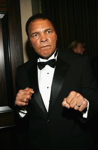 Muhammad Ali at the 16th Carousel of Hope.