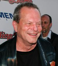 Terry Gilliam at the premiere of