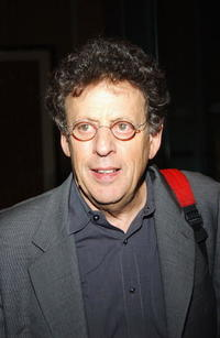 Philip Glass at the after party of the American Civil Liberties Unions Freedom Concert.