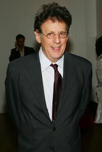 Philip Glass at the Kitchen Spring Gala 2006.
