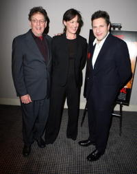 Philip Glass, Zoe Heller and Patrick Marber at the Fox Searchlights Evening With The Artists From