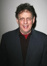 Philip Glass at the Fox Searchlights evening with the artists from
