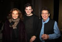 Diane Von Furstenberg, Nico Muhly and Philip Glass at the screening of