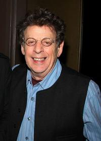 Philip Glass at the screening of