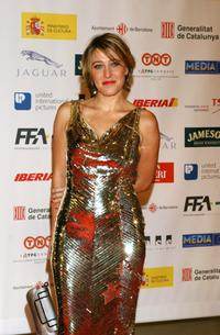 Valeria Bruni-Tedeschi at the European Academy Cinema Awards.
