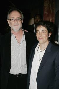 Gary Goetzman and Carolyn Strauss at the premiere of
