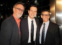 Gary Goetzman, Bill Paxton and Michael Lombardo at the premiere of