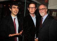 Director Gil Kenan, Colin Hanks and Gary Goetzman at the premiere of