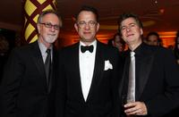 Gary Goetzman, Tom Hanks and Guest at the after party of 66th Annual Golden Globe Awards.