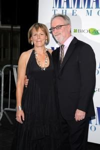 Director Phyllida Lloyd and Gary Goetzman at the premiere of