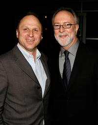 Bob Berney and Gary Goetzman at the premiere of