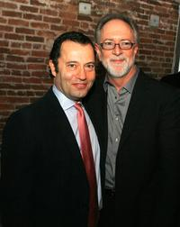 Colin Callender and Gary Goetzman at the afterparty of the premiere of