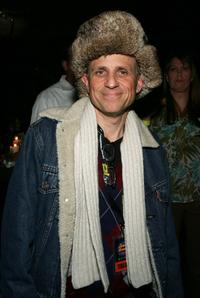 Bobcat Goldthwait at the Jimmy Kimmel Live show.