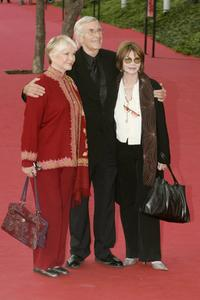 Lee Grant, Ellen Burstyn and Martin Landau at the Actors Studio red carpet on the sixth day of Rome Film Festival.