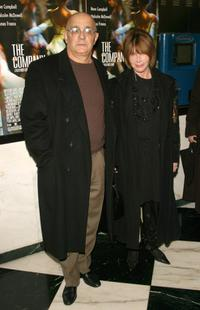 Lee Grant and Joe Feury at the screening of