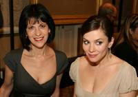 Ellen Greene and Anna Friel at the 8th Annual AFI Awards cocktail reception.