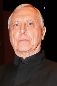 Director Peter Greenaway at the 'Eisenstein in Guanajuato' premiere during the 65th Berlinale International Film Festival.