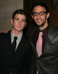 Bryan Greenberg and Director Ben Younger at the after party of the premiere of