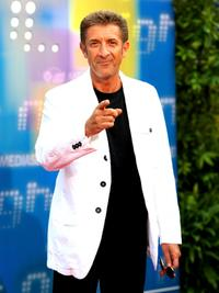 Ezio Greggio at the Mediaset TV programming.