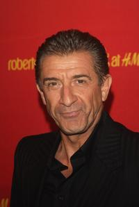 Ezio Greggio at the Roberto Cavalli at H&M collection launch party.