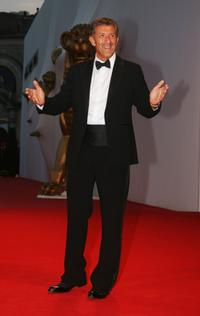 Ezio Greggio at the premiere of