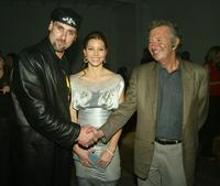 Andrew Bryniarski, Jessica Biel and Bob Shaye at the after party of the premiere of