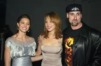 Jessica Biel, Erica Leerhsen and Andrew Bryniarski at the after party of the premiere of