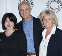 Tina Yothers, Michael Gross and Meredith Baxter at the Paley Center for Media Presents