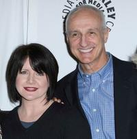 Tina Yothers and Michael Gross at the Paley Center for Media Presents