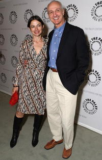 Justine Bateman and Michael Gross at the Paley Center For Media Presents An Evening with Gary David Goldberg.