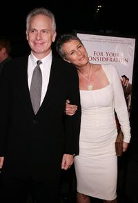 Christopher Guest and his wife Jamie Lee Curtis at the Los Angeles premiere of the film