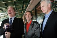 Christopher Guest, Michael McKean and Harry Shearer at the International Film Festival Awards brunch.