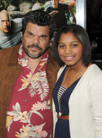 Luis Guzman and Guest at the California premiere of