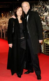 Gabriela Lehmann and Michael Gwisdek at the Golden Bear Award Ceremony during the 57th Berlin International Film Festival (Berlinale).