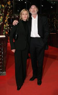 Gabriela Lehmann and Michael Gwisdek at the Golden Bear Award Gala during the 56th Berlin International Film Festival (Berlinale).