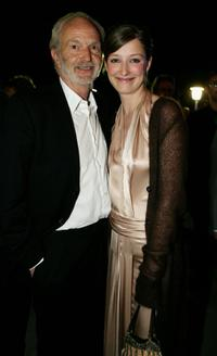 Michael Gwisdek and Alexandra Maria Lara at the aftershow party during the German Film Awards (Deutscher Filmpreis).