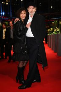 Gabriela Lehmann and Michael Gwisdek at the premiere of