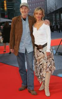 Michael Gwisdek and Gabriela Lehmann at the German premiere of