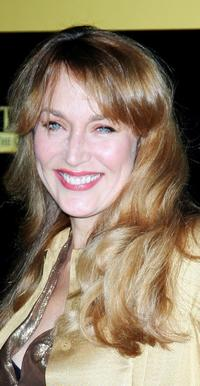 Jerry Hall at the premiere of