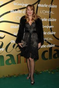 Jerry Hall at the 5th Marie Claire Magazine Awards.