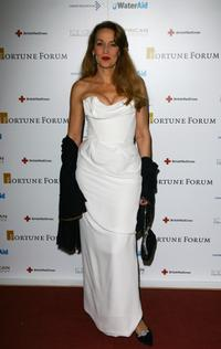 Jerry Hall at the Fortune Forum Summit.