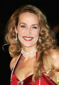 Jerry Hall at the UK premiere of