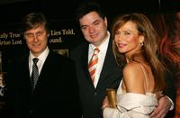 Lasse Hallstrom, Oliver Platt and Lena Olin at the special screening of