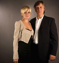 Sienna Miller and Lasse Hallstrom at the AFI Fest 2005 in California.
