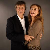 Lasse Hallstrom and Lena Olin at the AFI Fest 2005 in California.